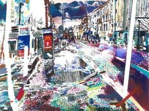 Kingsland High Street, limited edition giclee print
